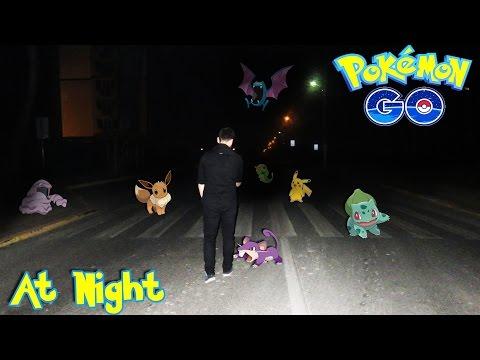 ловила ли ты на ночь покемонов