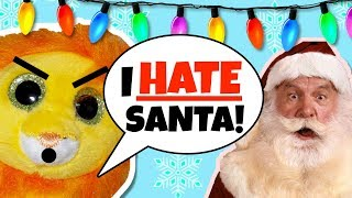 Beanie boos - My annoying brother RUINED Christmas ( A bushy the lion christmas special )