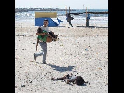 4 niños de una misma familia son asesinados en una playa de Gaza