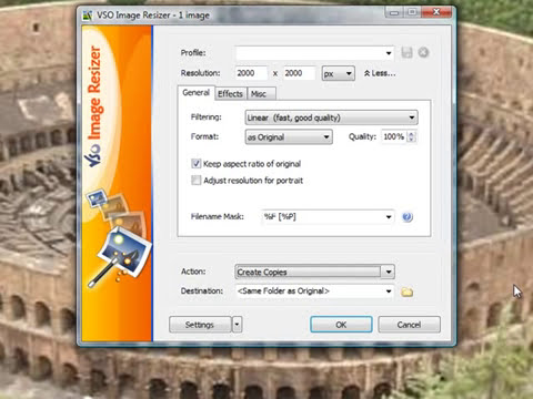 How to Use the VSO Image Resizer