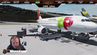 [P3D v4.3] FSLabs A319 Pre-Release! | VOR Visual Approach at Madeira LPMA