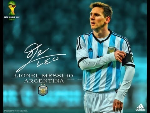 Lionel Messi Skills And Goals with seleccion ARGENTINA 2014 HD