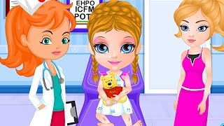 Baby Barbie Game Movie - Baby Barbie Playtime Accident - Baby Games - Dora the Explorer