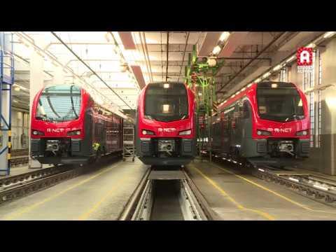 Rondleiding nieuwe treinen Alphen aan den Rijn - Gouda