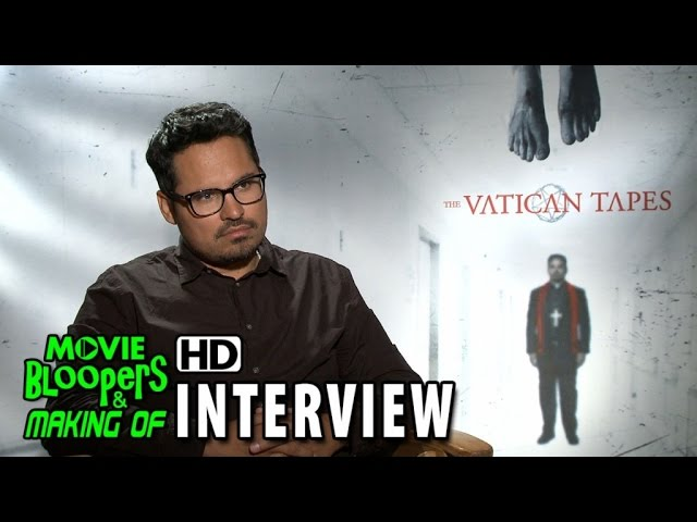 The Vatican Tapes (2015) Official Movie Interview - Michael Pena