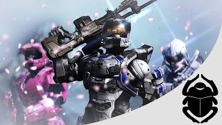 Return To Reach Anime Intro (Halo 5 machinima intro)