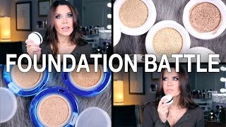 CUSHION FOUNDATION SHOWDOWN || GlamLifeGuru