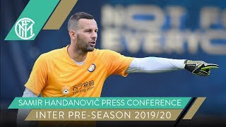 LUGANO vs INTER | Samir Handanovič Pre-Match Press Conference 🎙️⚫️🔵 [SUB ENG]