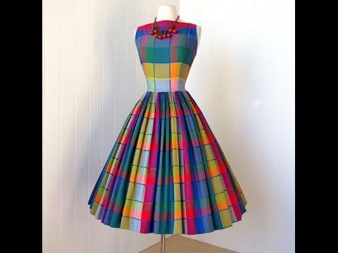 Платья сшить в стиле ретро стиль 305