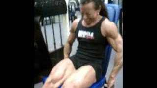 Justine Dohring - 2 Weeks Out From The 2011 NPC Nationals.wmv