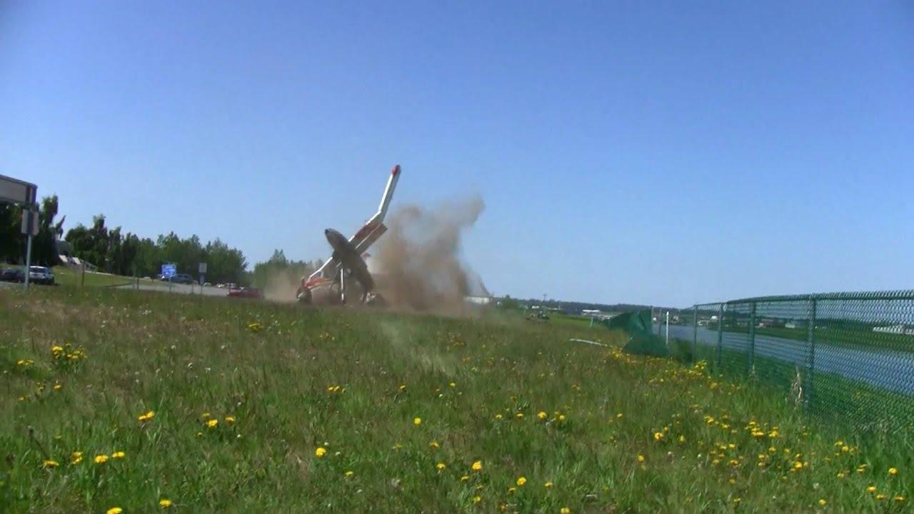 de Havilland Beaver Plane Crash at Lake Hood (HD) YouTube