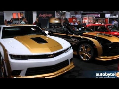 Barrett Jackson On Lv1 Camaro Restomodding Future