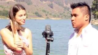 "Pretty Russian girl sings ""Hanggang Ngayon"" w/ Jonathan Andres - I LOVE OPM"
