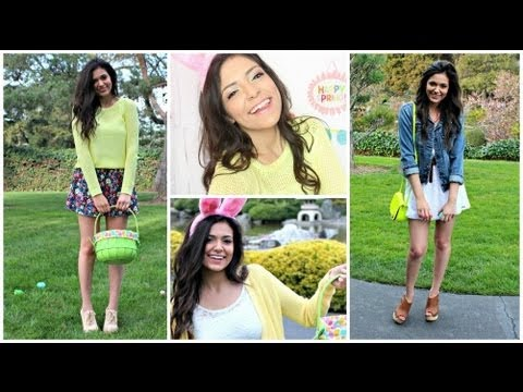 Easter Makeup & Outfit ideas!