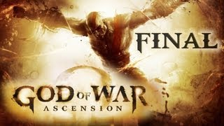 God Of War: Ascension | Capitulo 30 FINAL | Camara de Alecto