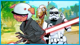 I'M THE WORST DROID EVER!!! - STAR WARS BATTLEFRONT II GAMEPLAY! (Droids vs. Clone Troopers)
