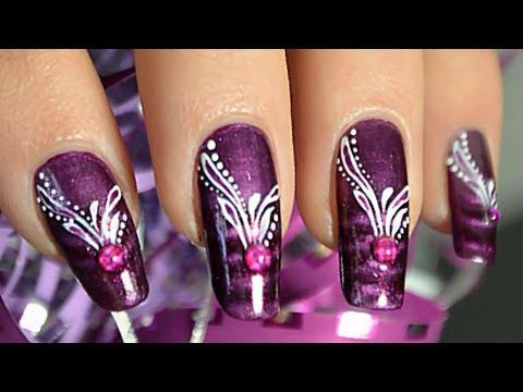 Nail Art Avec un Vernis