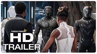 BLACK PANTHER Movie Clip Black Panther Suit Upgrade + Trailer (2018) Superhero Movie Trailer HD