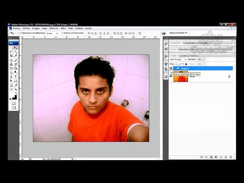 Tutorial Photoshop: Eliminar defecto amarillo.