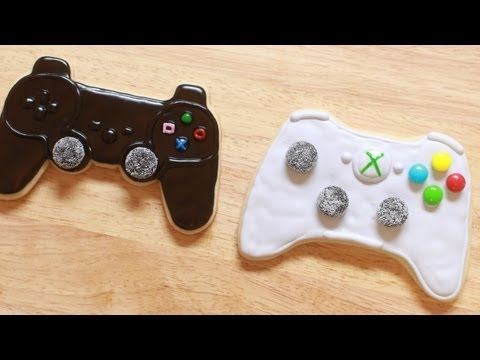 VIDEO GAME CONTROLLER COOKIES - NERDY NUMMIES