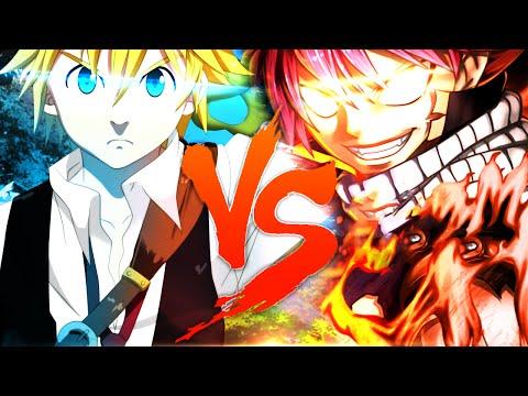 Meliodas VS. Natsu | Duelo de Titãs