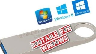 Bootable for all windows 7 8 8.1 10 and other operating system