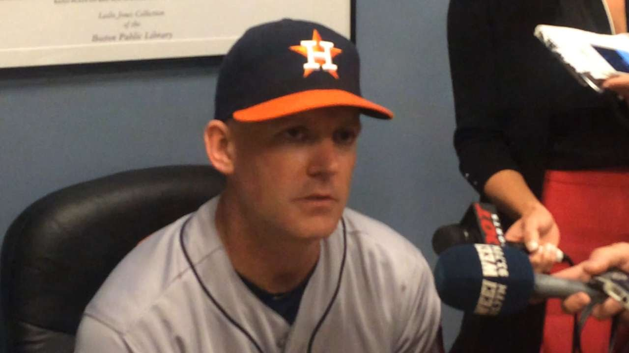 HOU@BOS: Hinch discusses Correa's huge game vs. Sox