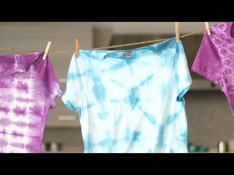 3 Simple Tie Dye Techniques - Martha Stewart