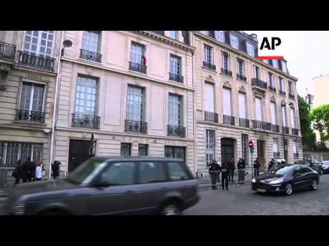 Christine Lagarde arriving for second day of questioning in fraud probe