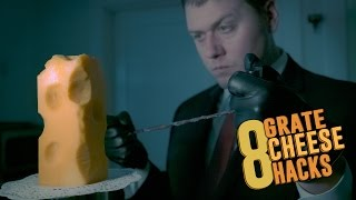 "8 ""Grate"" Cheese Hacks!"