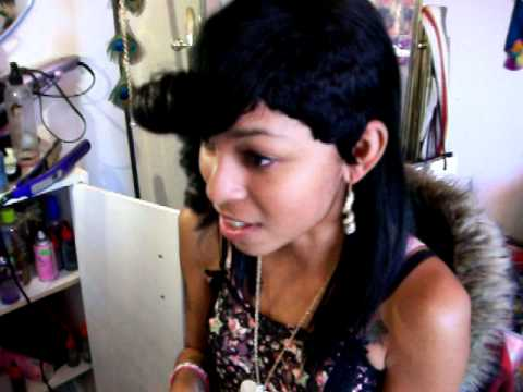 ONE SIDE SHAVED OFF CONCEITED LADY HAIR YouTube