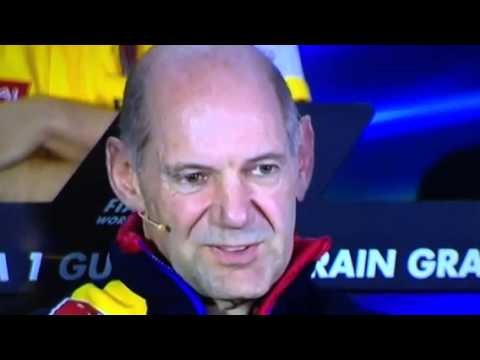 Adrian Newey team prince interview sue.