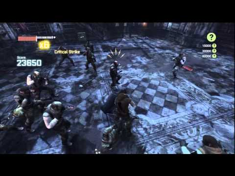 Batman: Arkham City Robin DLC Gameplay on Survival of the Fittest Challenge [HD]