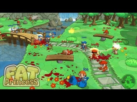 Ps3 Fat Fat Princess Ps3 Gameplay fr