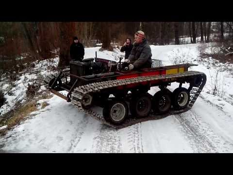 Видео снегоболотоход своими руками фото