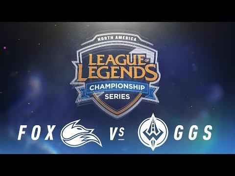 FOX vs. GGS - Week 4 Day 1 | NA LCS Spring Split |  Echo Fox vs. Golden Guardians (2018)