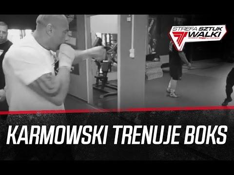 Michał Karmowski Trenuje Boks Z Maciejem Brzostkiem [Strefa Sztuk Walki]