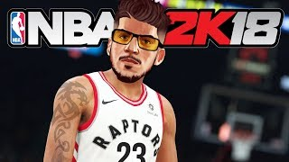 NBA 2K18 My Career - 1ST NBA GAME!! (NBA 2K18 Gameplay PS4 Pro)
