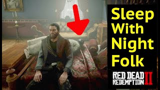 Sleep with Night Folk Until Morning in Red Dead Redemption 2 (RDR2): Clone Lillian Powell