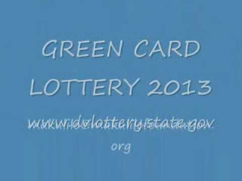 GREEN CARD LOTTERY 2013 (DV 2013)