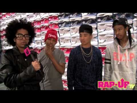 Mindless Behavior Sings Rihanna's 'Pour It Up'