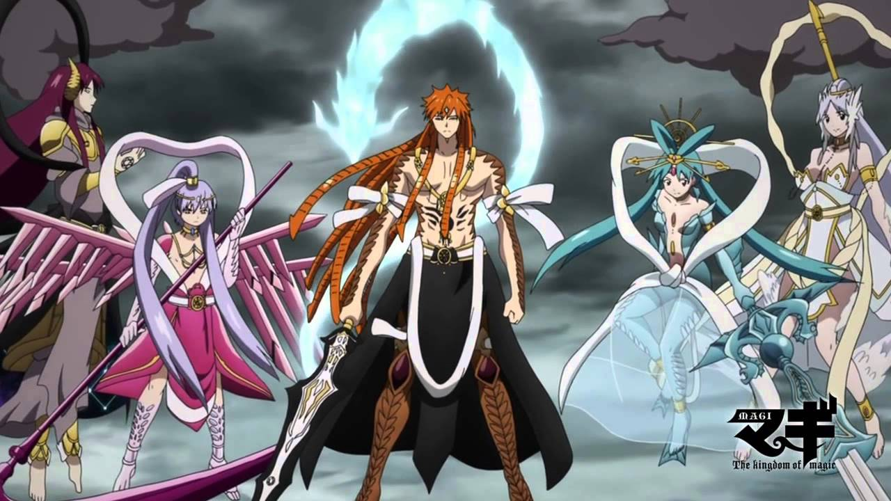 Magi Kingdom of Magic Alibaba Magi The Kingdom of Magic