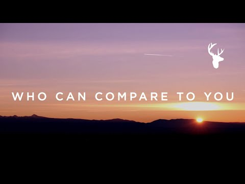 Who Can Compare To You // Matt Stinton // We Will Not Be Shaken Official Lyric Video