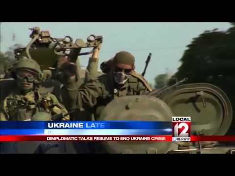 Ukraine and Russia pick up diplomatic talks
