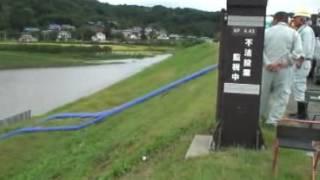 台風15号 伊達市冠水 ニュース