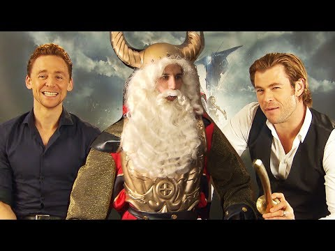 Tom Hiddleston, Chris Hemsworth, Natalie Portman in THOR & Loki vs Uncle Vili Daniele Rizzo