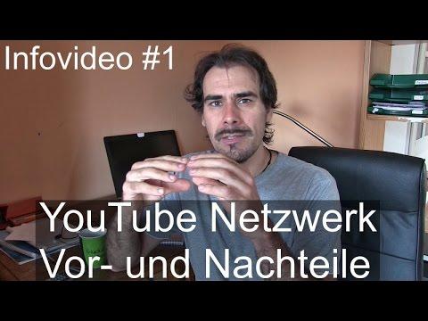 Infovideo #1 - YouTube Netzwerk. Vor- und Nachteile. Meine Erfahrung mit Netzwerken.