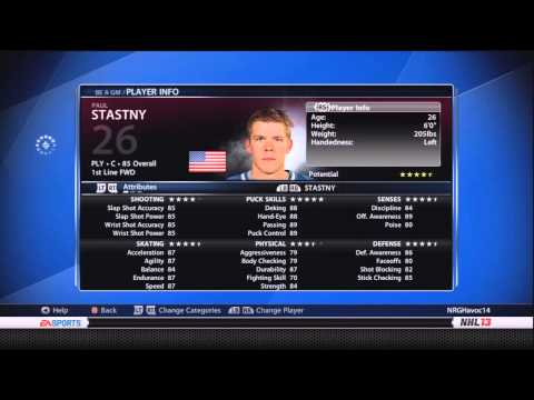 NHL 13: Colorado GM Mode ep. 1 - Getting to Know the Franchise