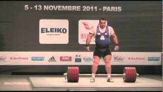 214 kg snatch world record - Behdad Salimikordasiabi
