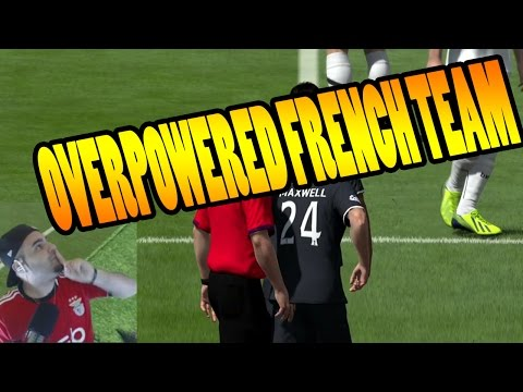 OVERPOWERED FRENCH TEAM - FIFA 14 Squad Builder